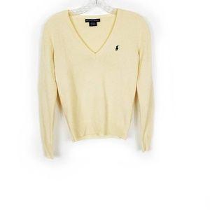 Ralph Lauren Italian Yarn Cashmere Wool Sweater XS